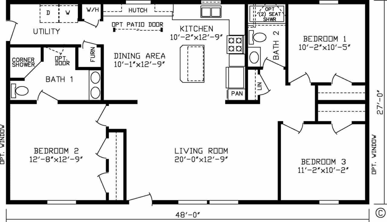 Buckingham Floor Plan