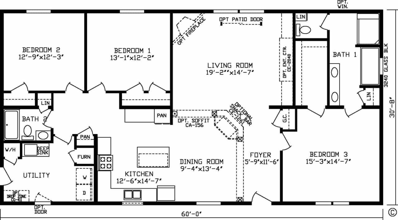 Edinburgh Floor Plan
