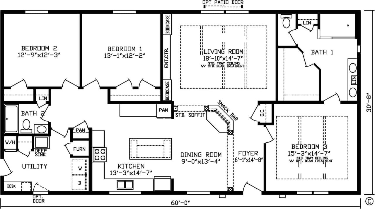 Augusta Floor Plan