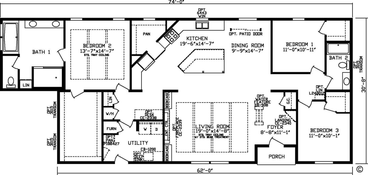 Harbor Town Floor Plan