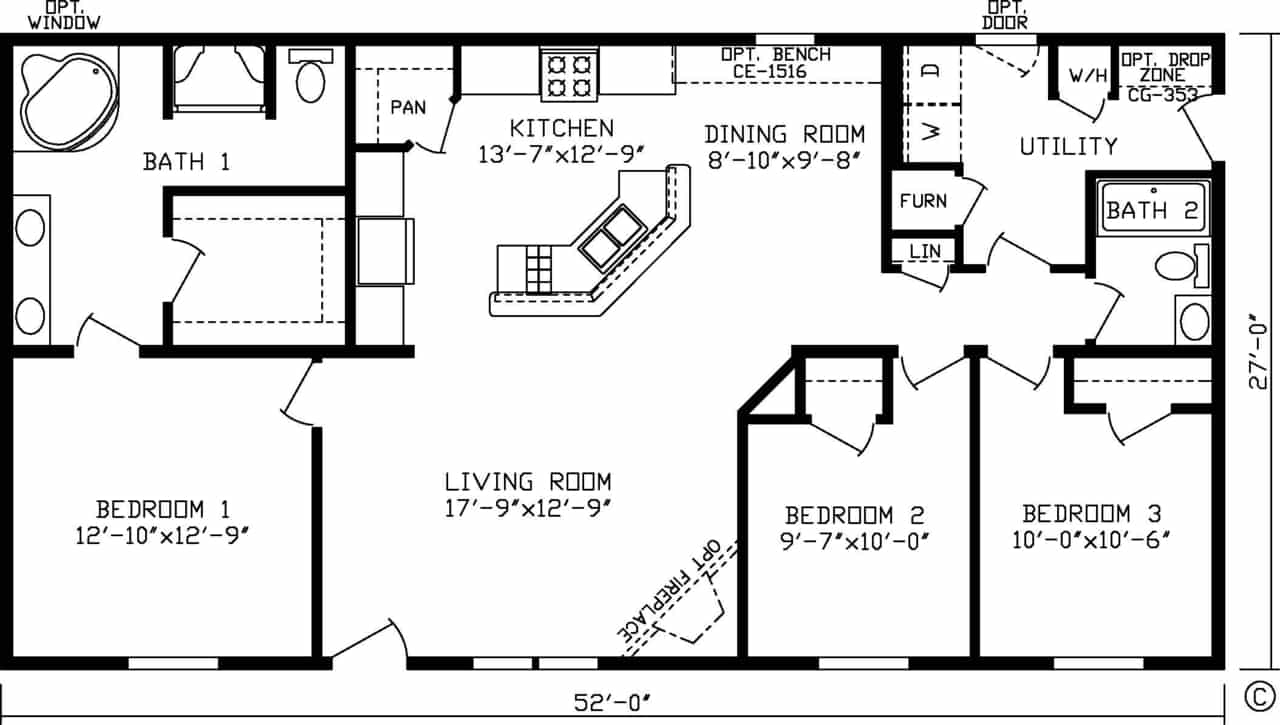Cardigan Floor Plan